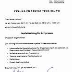 Notfalltraining: Hirndorf (2017-11-24)