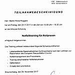 Notfalltraining: Perez (2017-11-24)