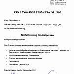 Notfalltraining: Petrich (2017-11-24)