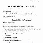 Notfalltraining: Rehs (2017-11-24)
